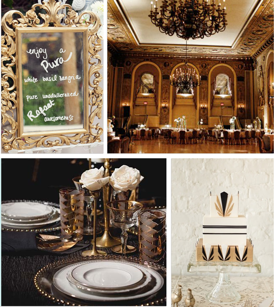 Katie saeger events from hallways to aisles art deco for Deco decorations